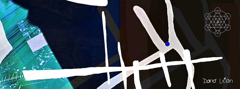 Dano Ličen's Digital compositions, exhibition – Založba Goga (Novo Mesto)